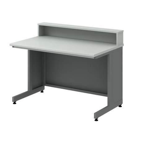 Стол преподавтеля с надстройкой СТУм -1200 для каб. биологии