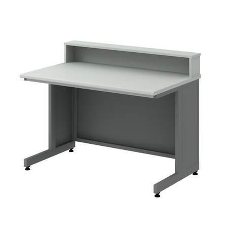 Стол преподавтеля с надстройкой СТУм -1200 для каб. физики