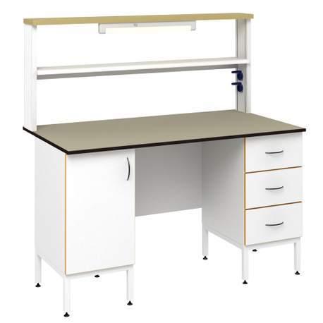 Стол пристенный физический СОВЛАБ 1500 ПФLg