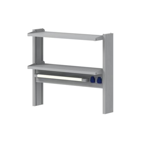 Технологические стеллажи для пристенных столов
