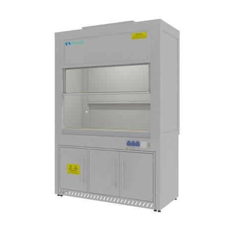 Шкаф вытяжной для выпаривания кислот Моd. -1500 ШВКС (К-12)