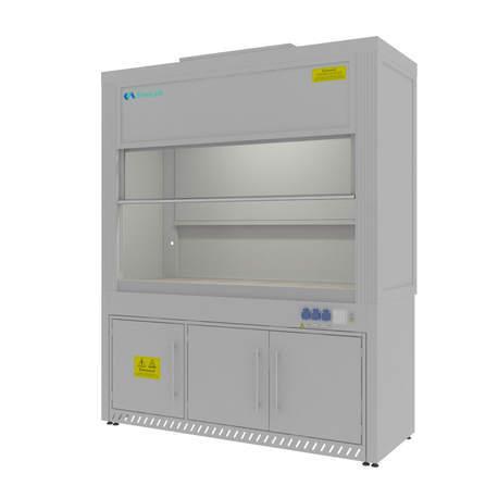 Шкаф вытяжной для выпаривания кислот Моd. -1800 ШВКС