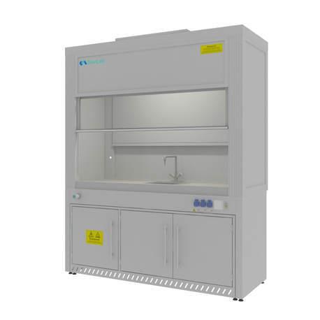 Шкаф вытяжной для мытья посуды Моd. -1800 ШВП