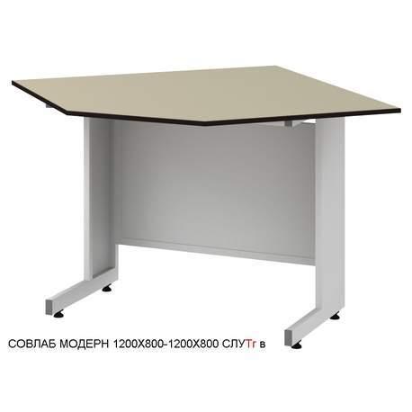 Стол угловой лабораторный высокий Mod. -1200х800-1200х800 СЛУTr в