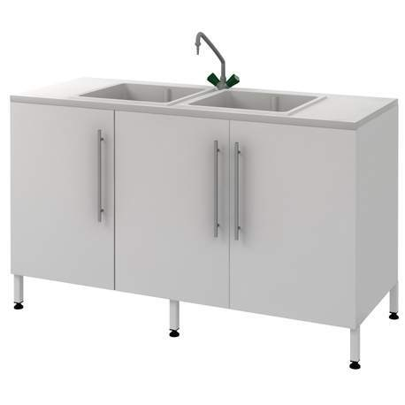Стол-мойка Mod. - 1500 МПЛ-2
