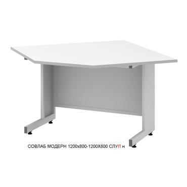 Стол угловой лабораторный низкий Mod. -1200х800-1200х800 СЛУЛ н