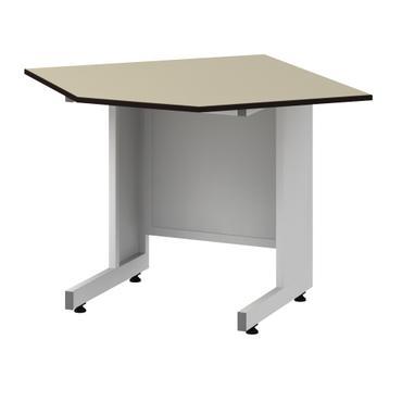 Стол угловой лабораторный низкий Mod. -900х600-900х600 СЛУLg н