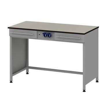 Стол для хроматографа с 2-мя ящиками и блоком розеток Mod. -1200 СХ2ЯК12