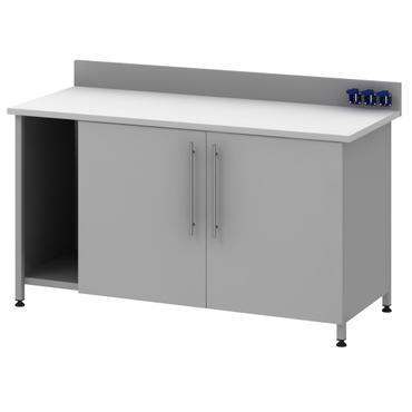 Стол для хроматографа на опорной тумбе Mod. -1500 СХTLg