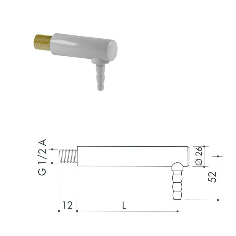 Кран для воды из полипропилена art1000-650