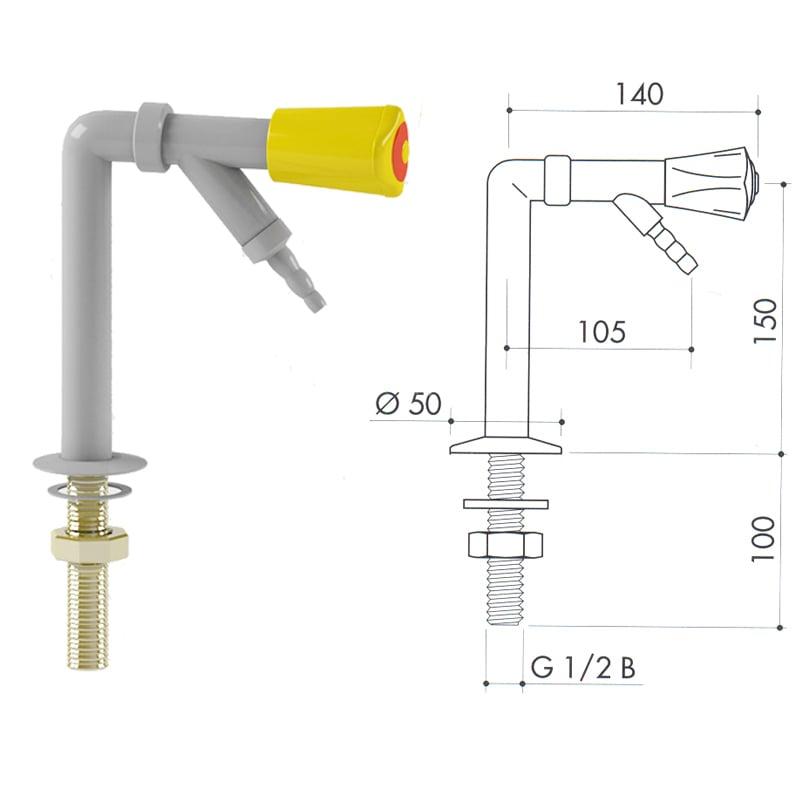 Кран для сжиженного газа 2100-310