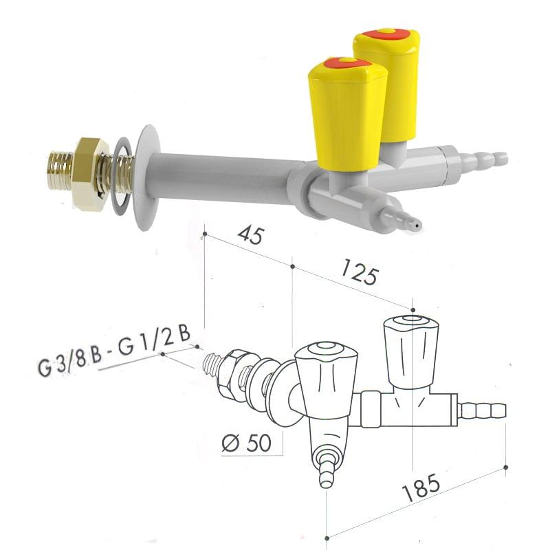 Кран для сжиженного газа 2100-396
