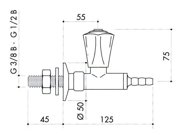 Кран для вакуума art2200-371