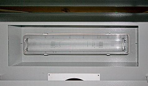 Освещение вытяжного шкафа ECO