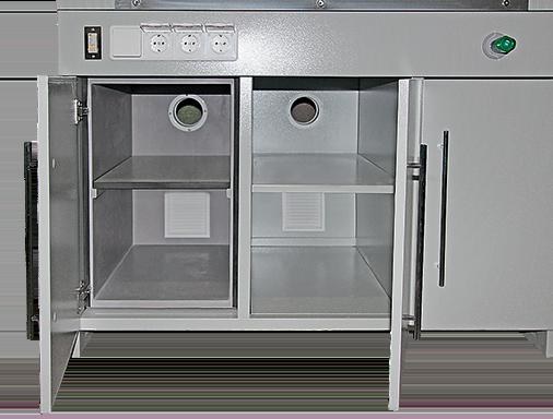 Опорная тумба вытяжного шкафа ECO