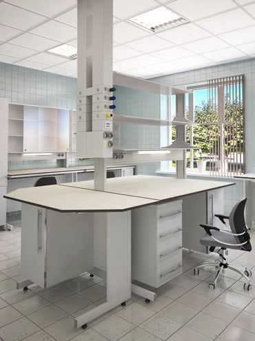 Лабораторная мебель серии MODERN